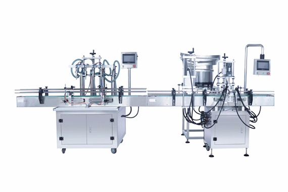 Automatic fruit juice filling capping machine
