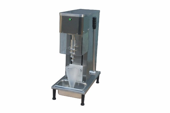 Fruit ice cream mixer machine