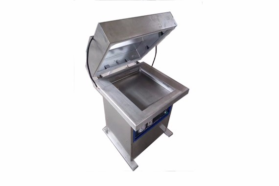 Glass jar vacuum packing machine
